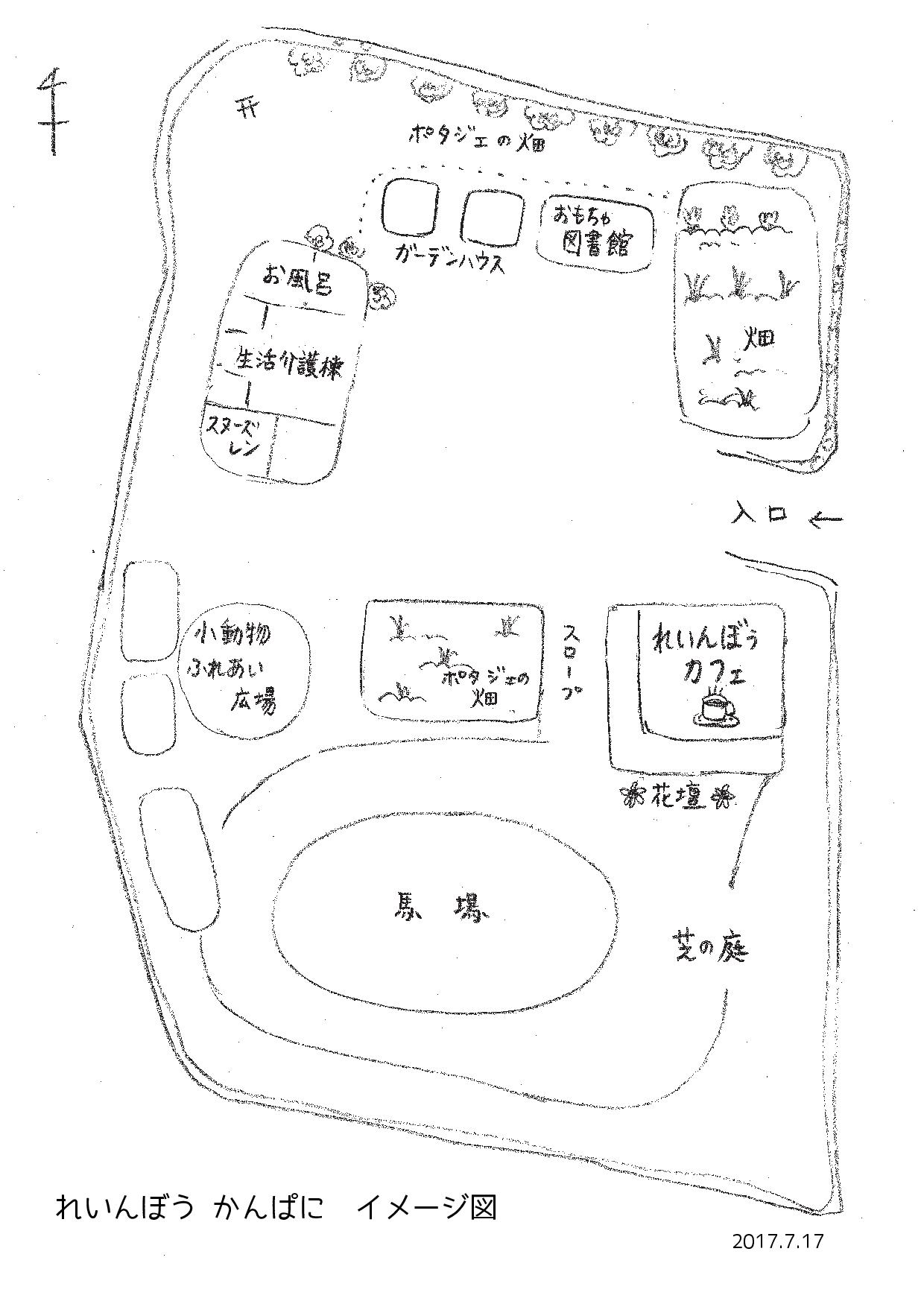 れいんぼうかんぱにイメージ図
